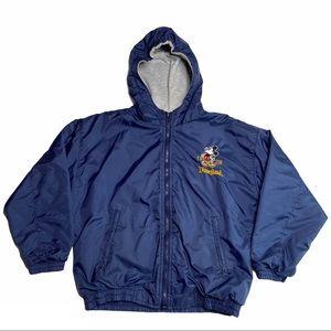 Disneyland Mickey Mouse Hooded Windbreaker Jacket
